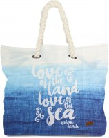 taška BEACH BAG blue