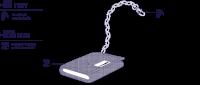 peněženka RFIDSAFE Z50 TRIFOLD WALLET black