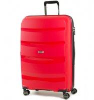 Cestovní kufr ROCK TR-0174/3-L PP - červená