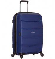 Cestovní kufr SIROCCO T-1208/3-L PP - modrá