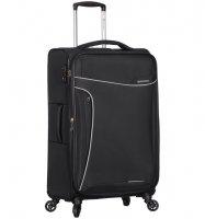 Cestovní kufr SIROCCO T-1201/3-M - černá