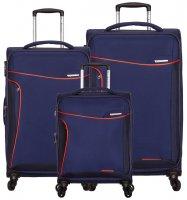 Sada cestovních kufrů SIROCCO T-1201/3 - modrá