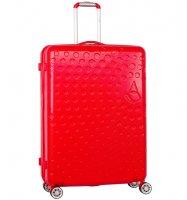 Cestovní kufr AEROLITE T-565/3-L ABS - červená