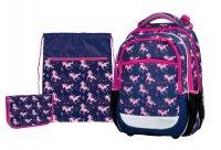 Školní set Junior Pink unicorn