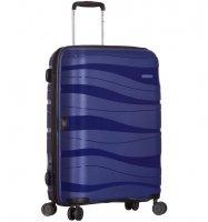 Cestovní kufr SIROCCO T-1233/3-M PC - modrá