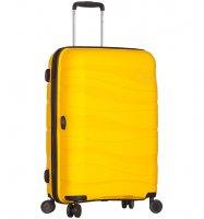 Cestovní kufr SIROCCO T-1233/3-M PC - žlutá