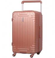 Cestovní kufr AEROLITE T-2821/3-L ABS - růžová