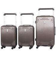 Sada cestovních kufrů AEROLITE T-2821/3 ABS -…