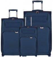 Sada cestovních kufrů AEROLITE T-9515/3 - tmavě…