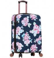Cestovní kufr SIROCCO T-1251/3-L PC - Flower