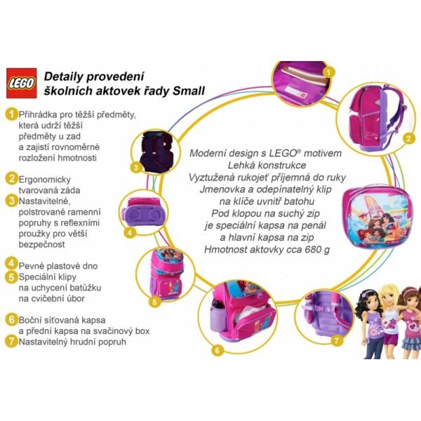 4fca97cd3ac ... LEGO CITY Fire Small - školní aktovka